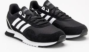 Buty sportowe Adidas sznurowane w sportowym stylu z zamszu