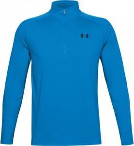 Niebieska bluza Under Armour w sportowym stylu z dzianiny