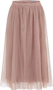 Różowa spódnica Manifiq&Co. z tiulu
