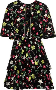 Sukienka Liu-Jo mini z dekoltem w kształcie litery v