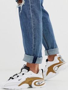 Złote buty sportowe Reebok