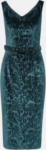 Sukienka Dorothy Perkins midi ołówkowa z dekoltem w kształcie litery v