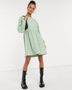 Sukienka Daisy Street mini z długim rękawem koszulowa
