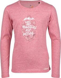Różowa bluzka dziecięca Head