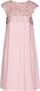 Sukienka bonprix bpc selection premium z szyfonu