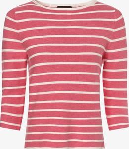 Różowy sweter Franco Callegari