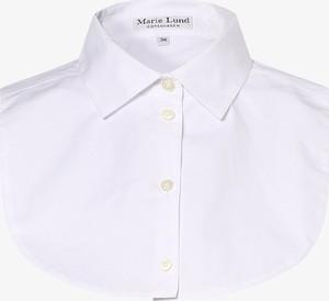Bluzka Marie Lund w stylu casual z dekoltem w kształcie litery v z długim rękawem