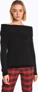 Czarny sweter Gate w stylu casual