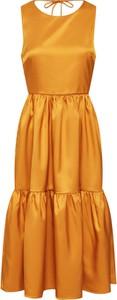 Pomarańczowa sukienka Y.A.S oversize