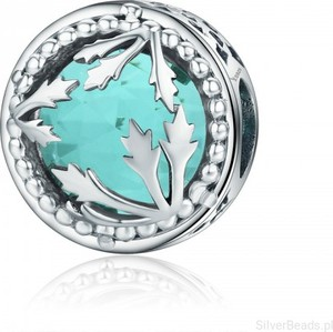 Silverbeads.pl d932 koralik charms modułowa bransoletka beads srebro 925