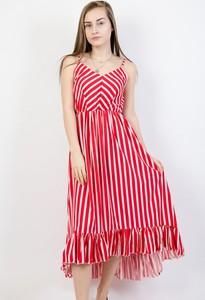 Sukienka Olika z dekoltem w kształcie litery v maxi