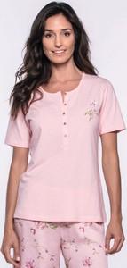 Różowa piżama Softcotton