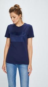 Granatowy t-shirt Calvin Klein Jeans