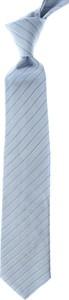 Niebieski krawat Giorgio Armani