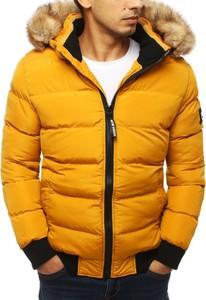 Żółta kurtka Dstreet w młodzieżowym stylu
