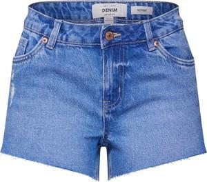 Niebieskie szorty New Look z jeansu