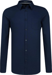 Niebieska koszula Guess Jeans z długim rękawem