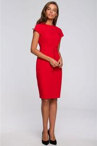 Sukienka Style ołówkowa z tkaniny midi