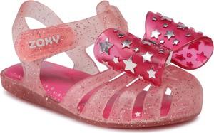 Buty dziecięce letnie Zaxy na rzepy