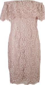 Sukienka Frank Lyman z krótkim rękawem