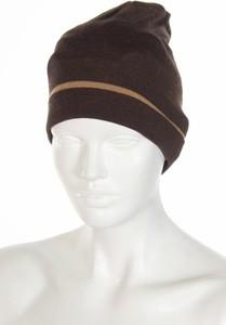 Brązowa czapka Michele Lombi