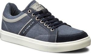 Sneakersy GINO LANETTI - MP07-16389-01 Granatowy