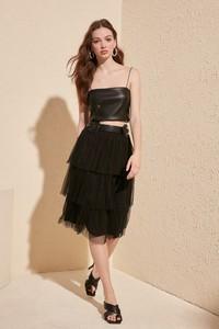 Czarna spódnica Trendyol
