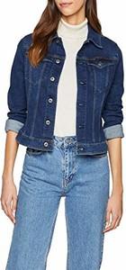 Niebieska kurtka G-Star Raw krótka z jeansu