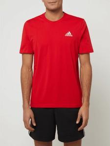 T-shirt Adidas Performance z krótkim rękawem z bawełny