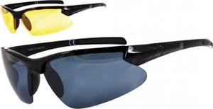 Stylion Sportowe okulary z dwoma soczewkami polaryzacyjnymi czarna i zolta - drs-51c1