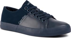 Sneakersy CALVIN KLEIN JEANS - Byron SE8461 Navy/Navy
