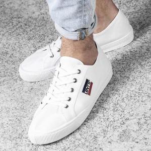 dc35de64b8a34 Białe buty męskie Levis wyprzedaż, kolekcja wiosna 2019
