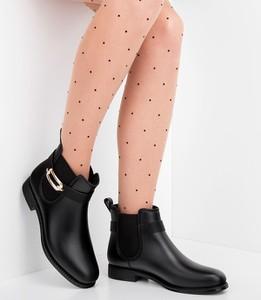 Kalosze Ideal Shoes w stylu casual