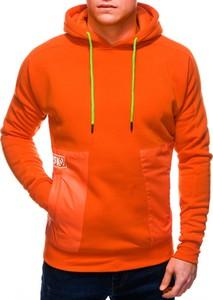 Pomarańczowa bluza Edoti
