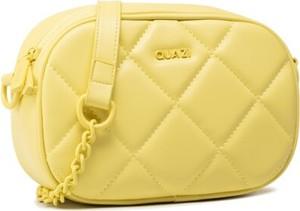 Żółta torebka Quazi na ramię