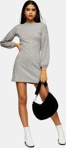 Sukienka Topshop mini z długim rękawem