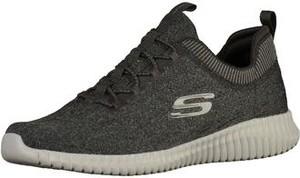 Czarne buty sportowe skechers