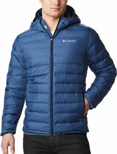 Niebieska kurtka Columbia krótka