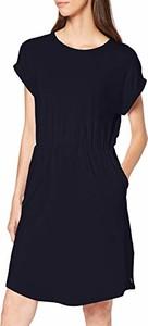 Sukienka amazon.de z krótkim rękawem z okrągłym dekoltem mini