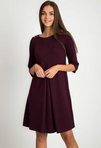 Sukienka QUIOSQUE rozkloszowana mini