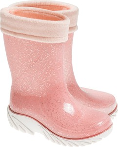 585b88f3e189 Różowe kalosze dziecięce Cool Club dla dziewczynek