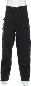 Czarne spodnie sportowe Mil-Tec w sportowym stylu z dresówki