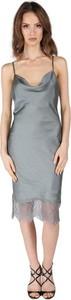 Sukienka Tiffi na ramiączkach midi z dekoltem w kształcie litery v