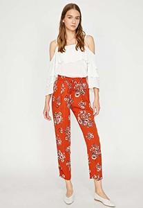 Czerwone spodnie amazon.de w stylu boho