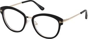 0dce63bf1547 Czarne okulary damskie Tom Ford