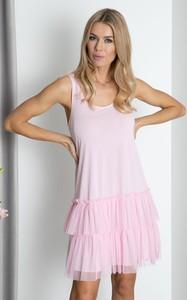 Sukienka Maravilla Boutique mini z tiulu na ramiączkach
