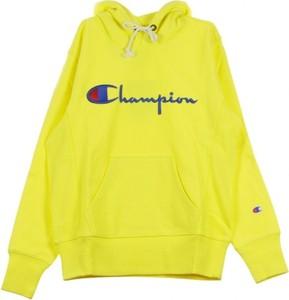 Żółta bluza Champion z bawełny