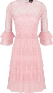 Sukienka Just Cavalli z długim rękawem mini