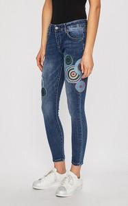Niebieskie jeansy Haily's z bawełny w street stylu