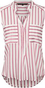 Różowy t-shirt Vero Moda w stylu casual